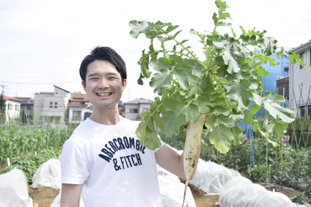 新鮮野菜を採りまくろう会7