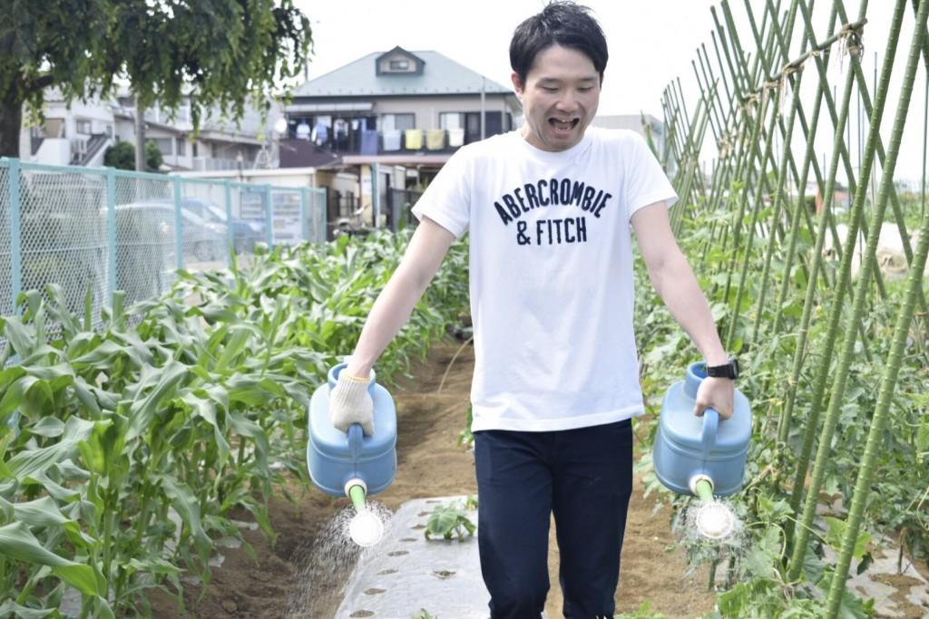 新鮮野菜を採りまくろう会8