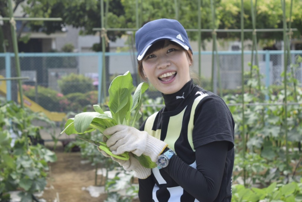 新鮮野菜を採りまくろう会10